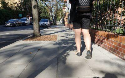 Wyremontowaliśmy chodnik na ulicy Orzeszkowej