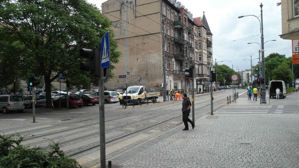 Wyłączenie sygnalizacji na skrzyżowaniu ul. Zielonej, Za Bramką i pl. Bernardyńskiego
