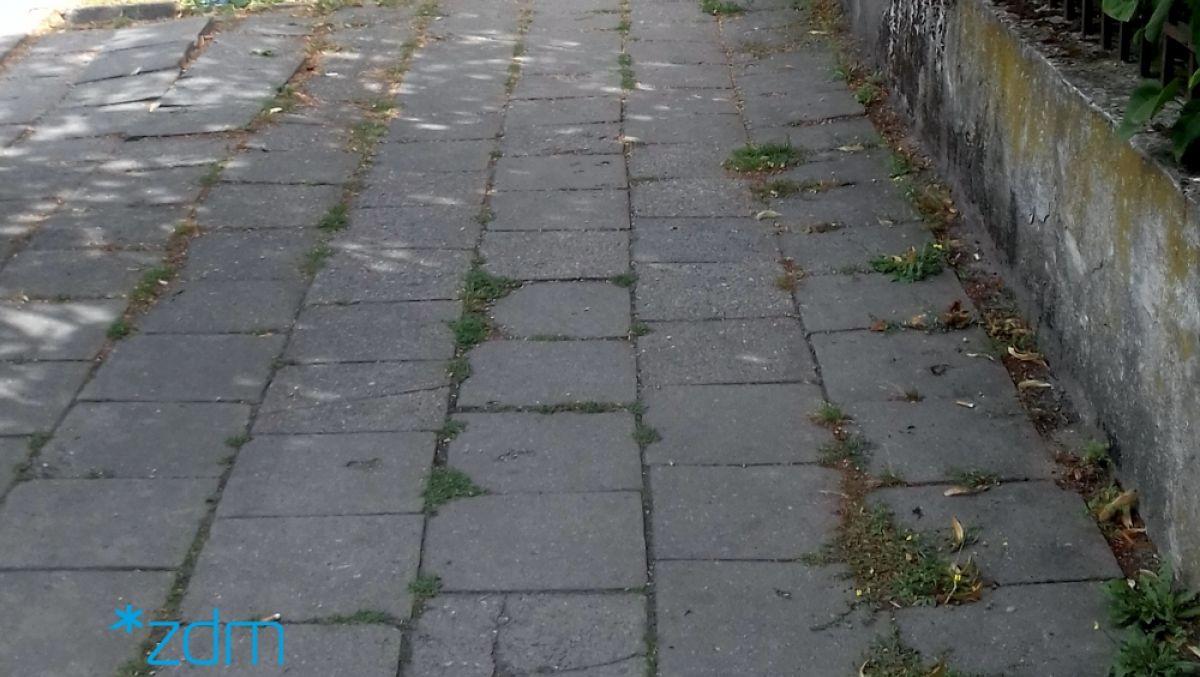 Remont chodnika z wpływów ze strefy płatnego parkowania