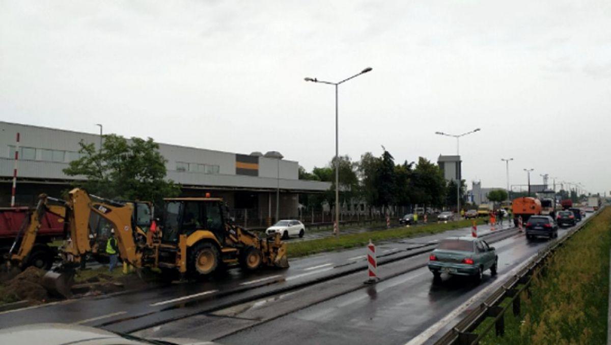 Prace na poznańskich ulicach