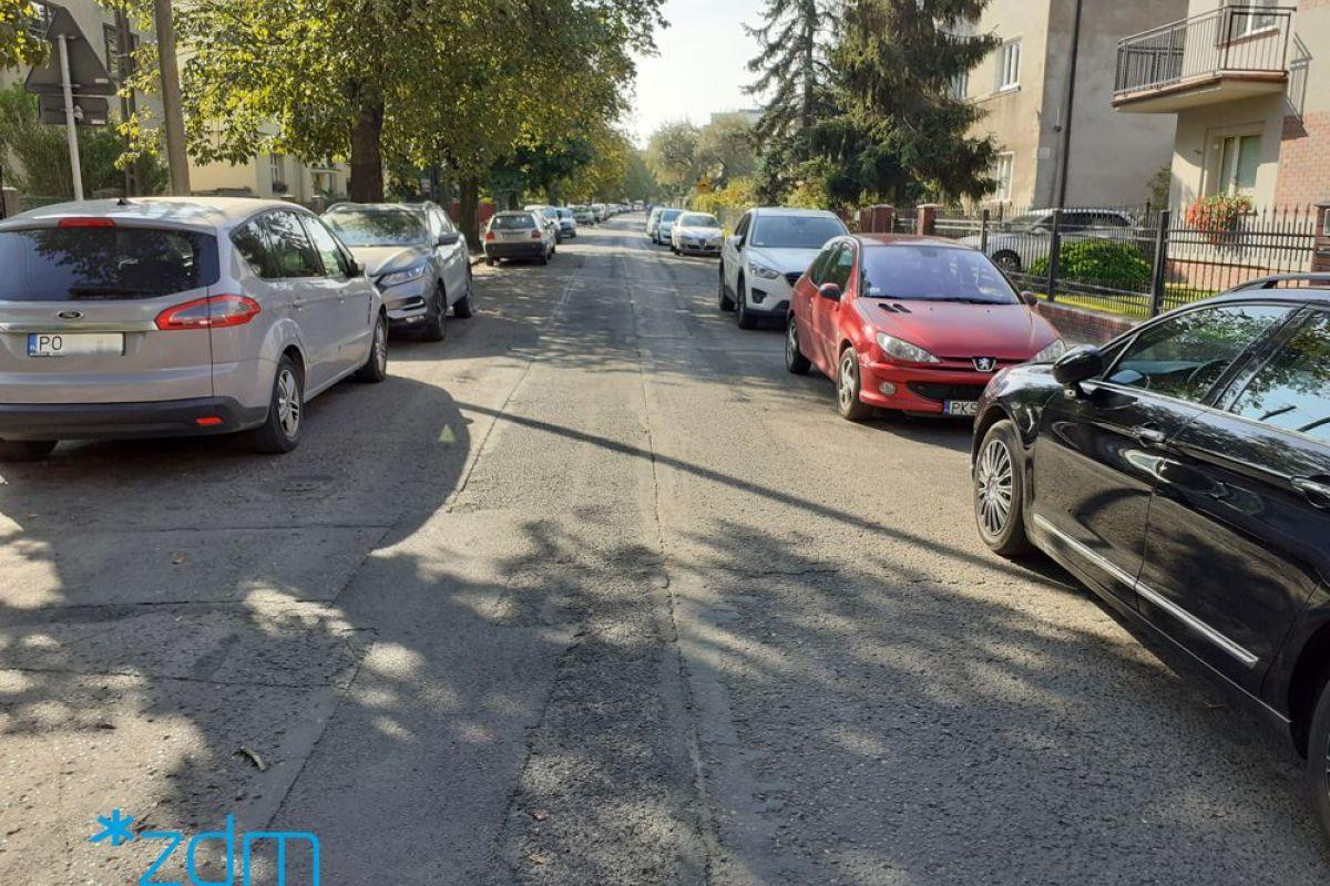 Remont jezdni i chodnika na ul. Saperskiej