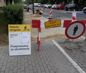 Remonty chodników na ulicach Obrzyca i Piwnej