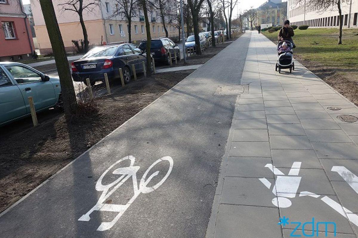 Piękniej i wygodniej dla kierowców, rowerzystów i pieszych