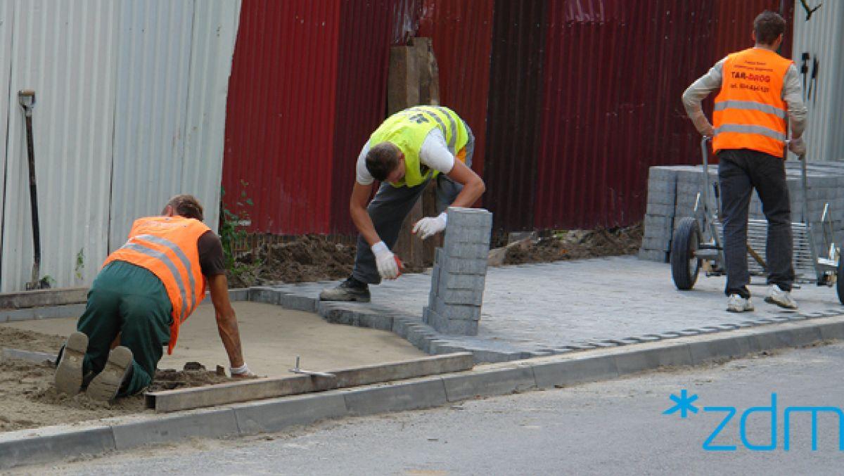 Wyremontujemy chodniki na ul. Wąskiej i Konopnickiej