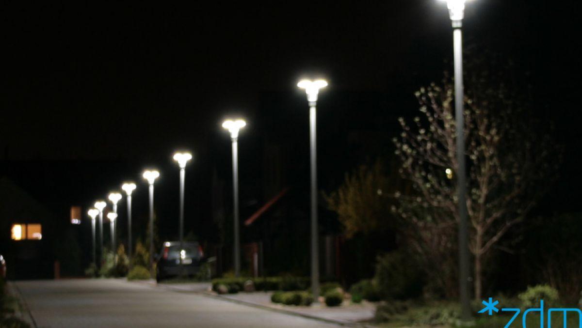Będzie bezpieczniej - latarnie uliczne poświecą dłużej
