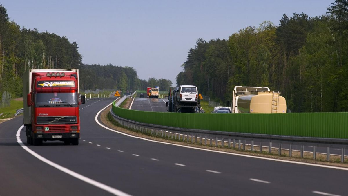 Prace na autostradzie - utrudnienia w Poznaniu