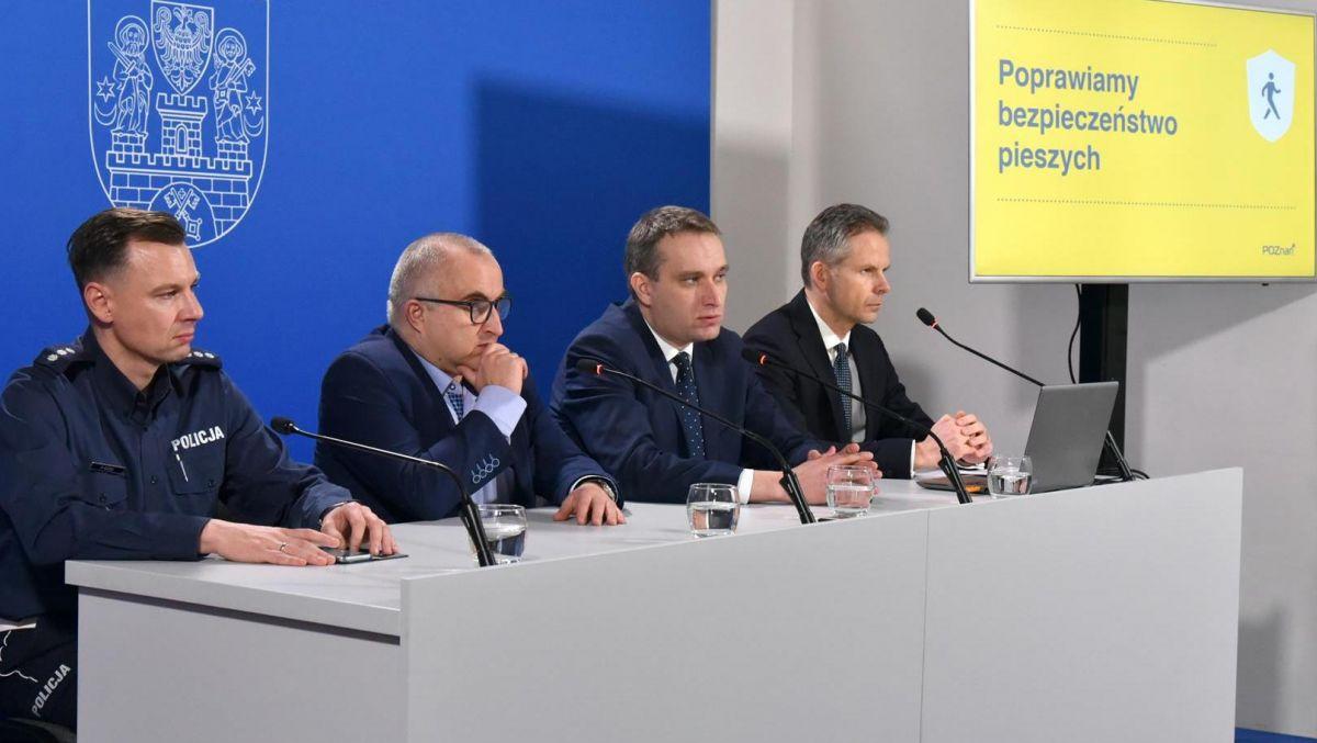Poznań dla poprawy bezpieczeństwa pieszych
