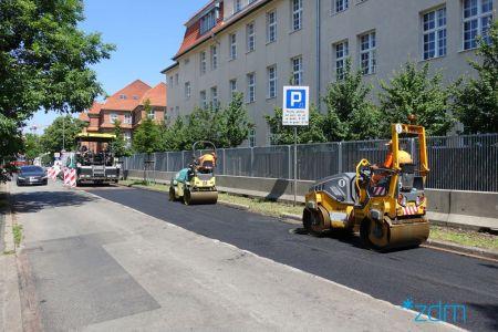 Remonty na poznańskich ulicach