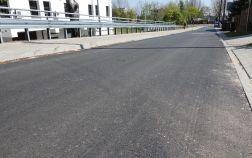 Ulica Czarna Rola z nową jezdnią, chodnikiem i odwodnieniem