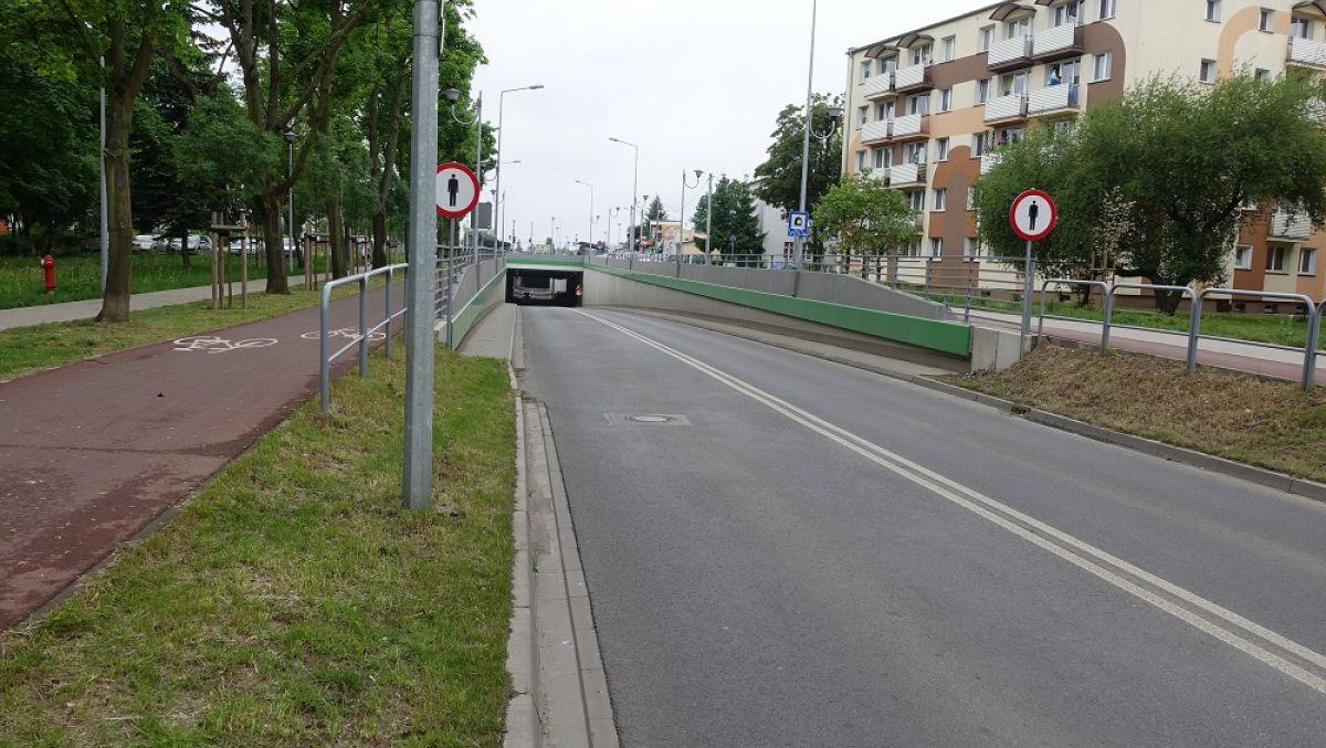 Tunel w ciągu ulicy Czechosłowackiej – działania w celu naprawy usterki
