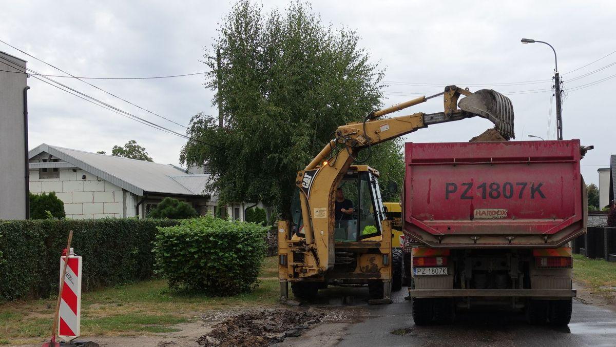 Budowa kanalizacji na ulicach: Świątniczki i Podjaryszki