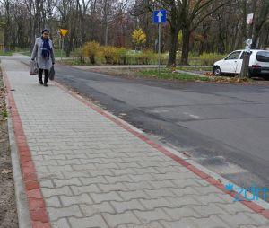 Z myślą o pieszych na ulicy Azaliowej