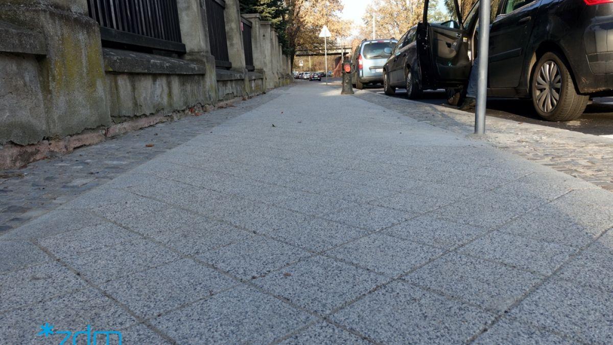 Nowe chodniki w Poznaniu