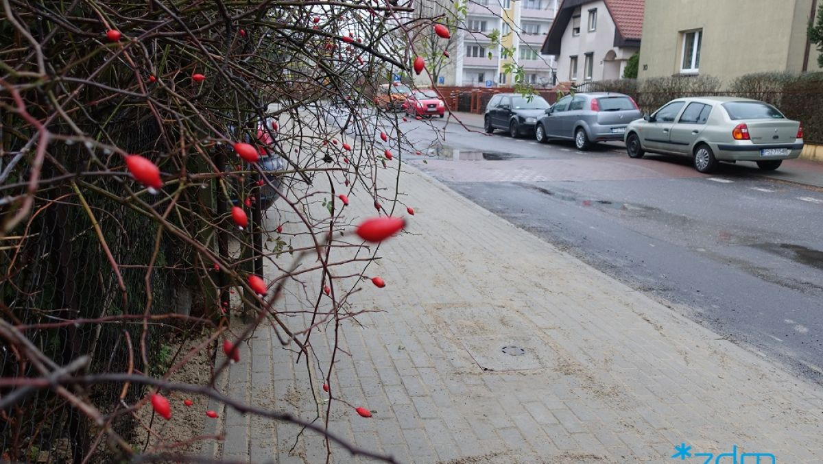 Wygodny chodnik na ulicy Sokołowskiego