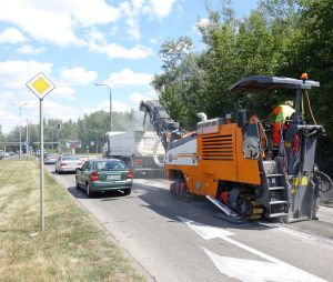 Piątkowe prace na poznańskich ulicach