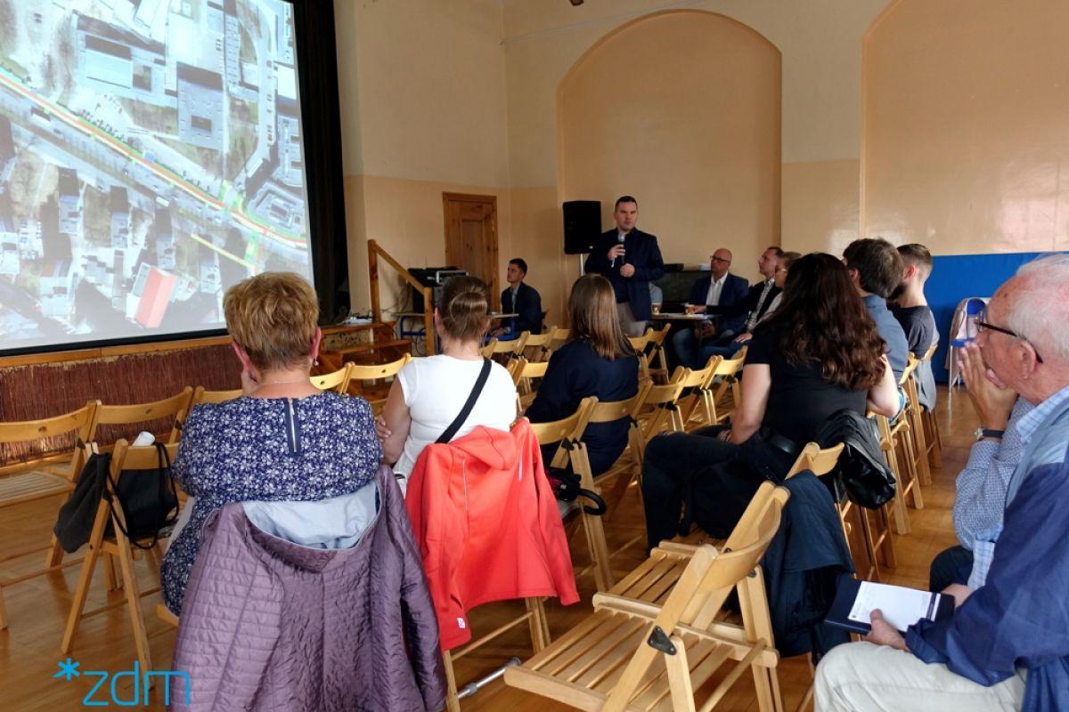 Spotkania konsultacyjne dotyczące Koncepcji budowy drogi rowerowej pomiędzy rondem Śródka a ul. Kulasa