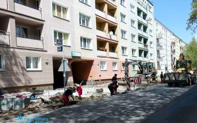 Kończy się przebudowa na ulicy Rolnej