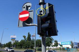 Sygnalizacja akustyczna na skrzyżowaniu ulic Serbskiej i Wilczak