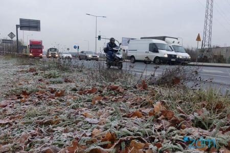 Zimowe działania na drogach w weekend