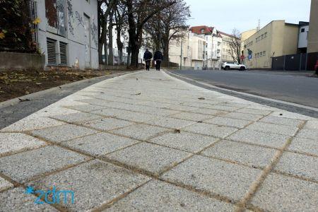 Nowy chodnik na ul. Składowej