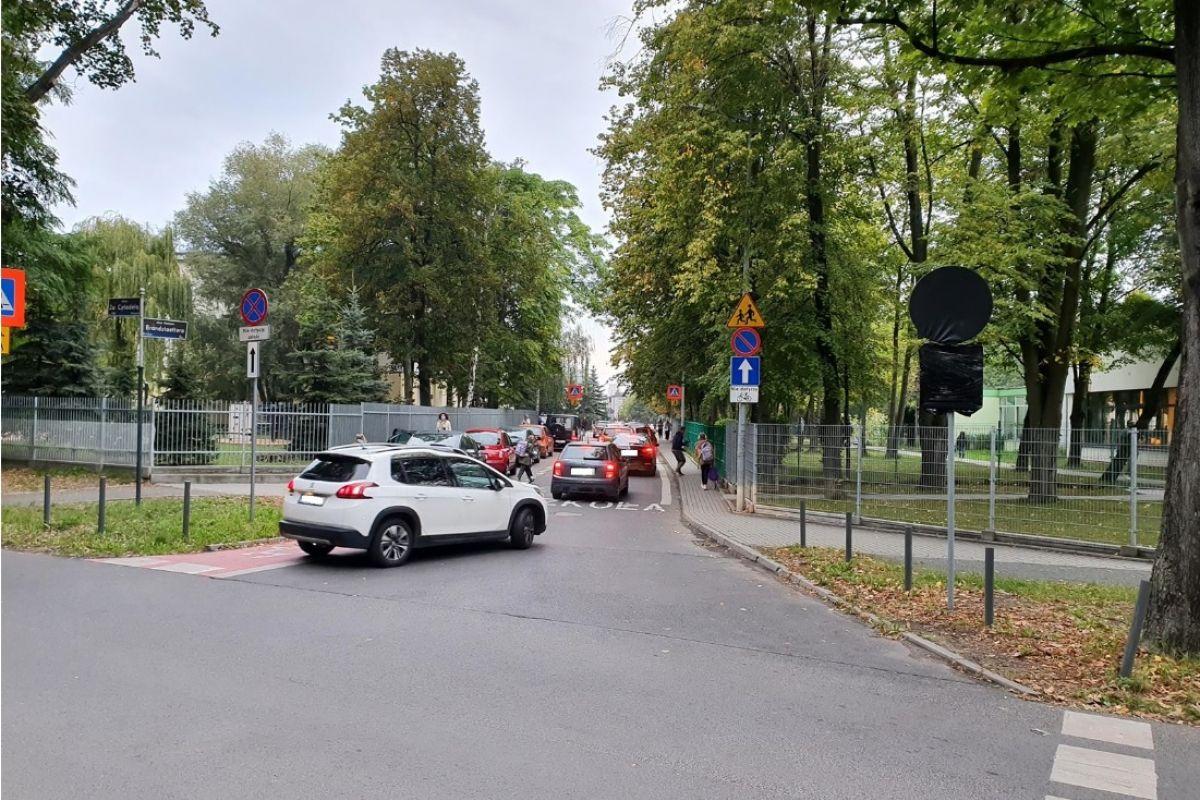 Ulica Brandstaettera - 15 minut dla bezpieczeństwa dzieci