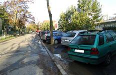 Ulica Stablewskiego przed nasadzeniami
