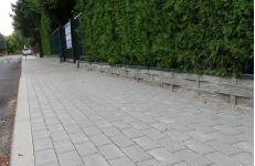Chodnik na ul. Hangarowej