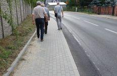 Chodnik na ul. Koszalińskiej