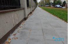 Wyremontowaliśmy chodnik na ulicy Słonecznej