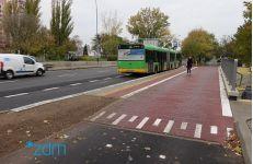 Wyremontowana zatoka autobusowa