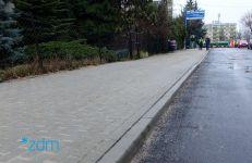Wyremontowany chodnik na ul. Sokołowskiego