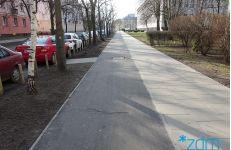 Ulica Szamotulska po remoncie