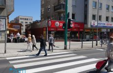 Przejście dla pieszych przez ul. Hetmańską