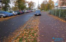 Zieleń i chodnik zostaną zabezpieczone przed nielegalnym parkowaniem