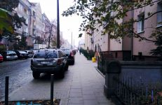 Wyremontowany chodnik