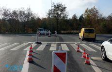 Rondo na zbiegu ulic Koszalińskiej i Literackiej