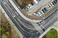Przebudowany odcinek ul. Szwajcarskiej