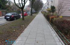 Wyremontowany chodnik na ul. Podstolińskiej