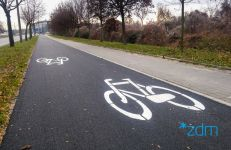 Droga rowerowa wzdłuż ul. Hetmańskiej