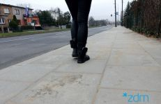 Wyremontowany chodnik na ul. Grochowskiej
