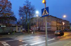 Główna - aktywne przejście dla pieszych