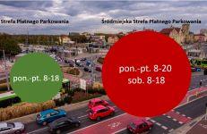 Godziny działania Strefy Płatnego Parkowania i Śródmiejskiej Strefy Płatnego Parkowania