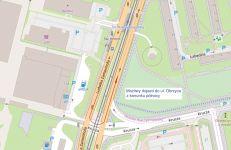 Ruch przez skrzyżowanie ul. Zamenhofa i ul. Kruczej   (MIR)
