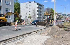 Kolejny etap budowy drogi rowerowej wzdłuż ul. Dolna Wilda – zmiany w organizacji ruchu
