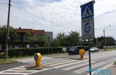 ul. Krańcowa - aktywne przejście dla pieszych