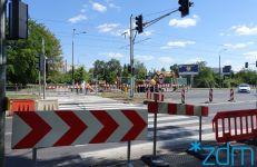 skrzyżowaniu ul. Hetmańskiej i Dmowskiego - przebudowa przejścia dla pieszych