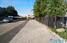 Nowy chodnik na ul. Gladiolowej