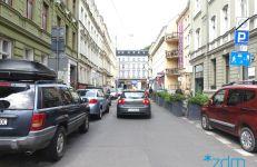 Ulica Kwiatowa przed przebudową.