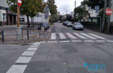 Ulica Inowrocławska przed rozpoczęciem prac
