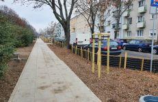 Zakończyły się zasadnicze roboty budowlane, związane z przebudową ul. Jarochowskiego